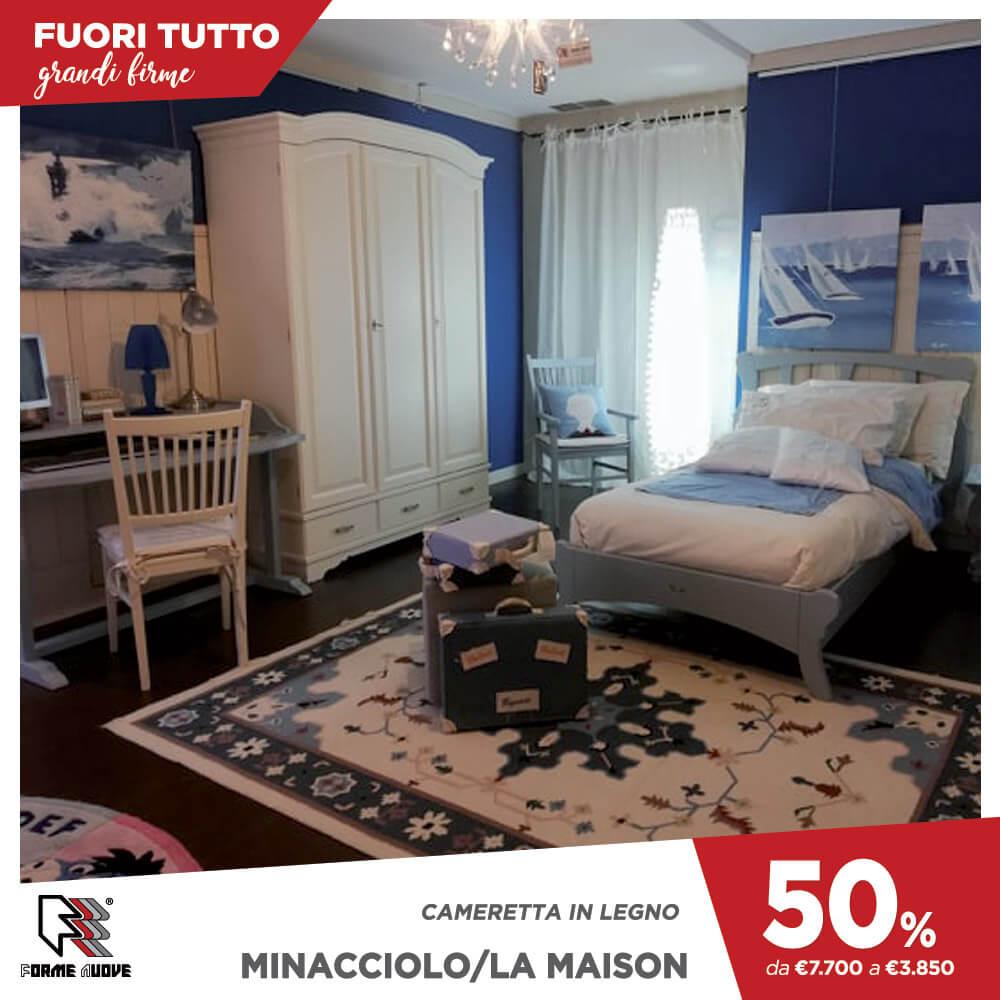 Letto A Castello Minacciolo.Outlet Forme Nuove Arredamenti Reggio Calabria